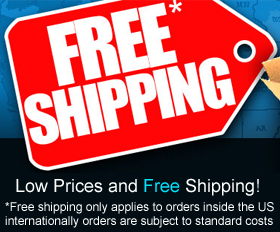 Free shipping on US orders!